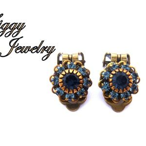 Swarovski Crystal Clip-On Earrings